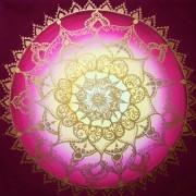 "Mandala ""Rose des Morgenlandes"""