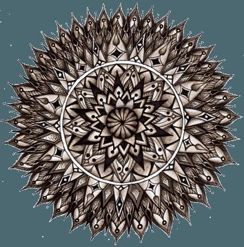Ausmal-Mandala