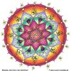 "Ausmal-Mandala ""Das Feiern des Göttlichen"""