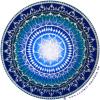 "SoulArt Mandala Aufkleber ""Kristallklar"""
