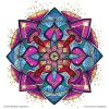 Ausmal-Mandala-Inspiration – Ausmal-Beispiel