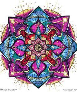 Ausmal Mandala Inspiration Soulart Mandala Seelen Energiebilder