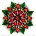 Ausmal-Mandala-Natur-Erwachen – Ausmal-Beispiel