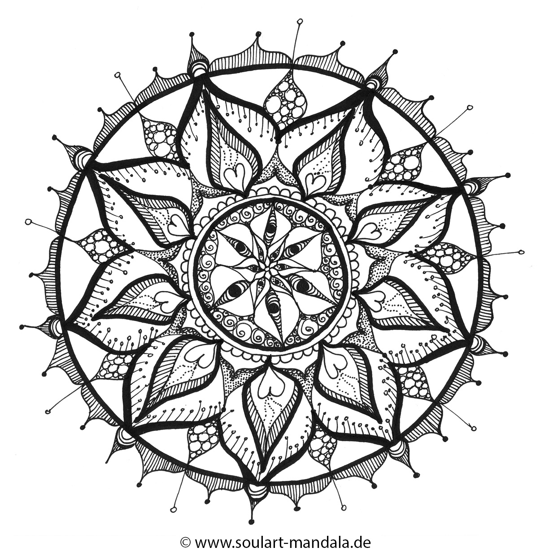 Ausmal mandala soulart mandala seelen energiebilder for Kuchenplaner zum ausdrucken